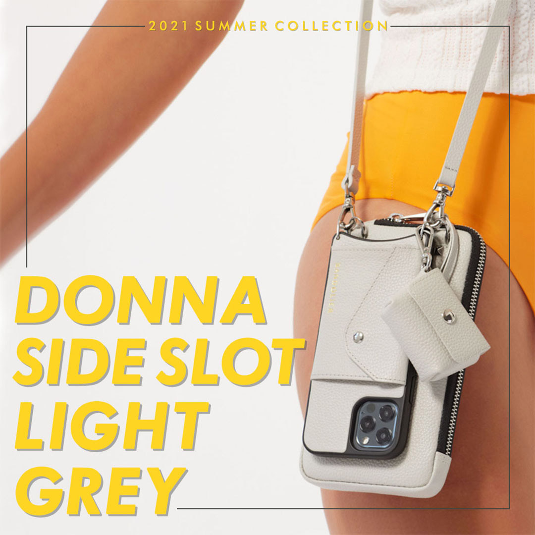 DONNA SIDE SLOT LIGHT GREY ドナ サイドスロット ライトグレー