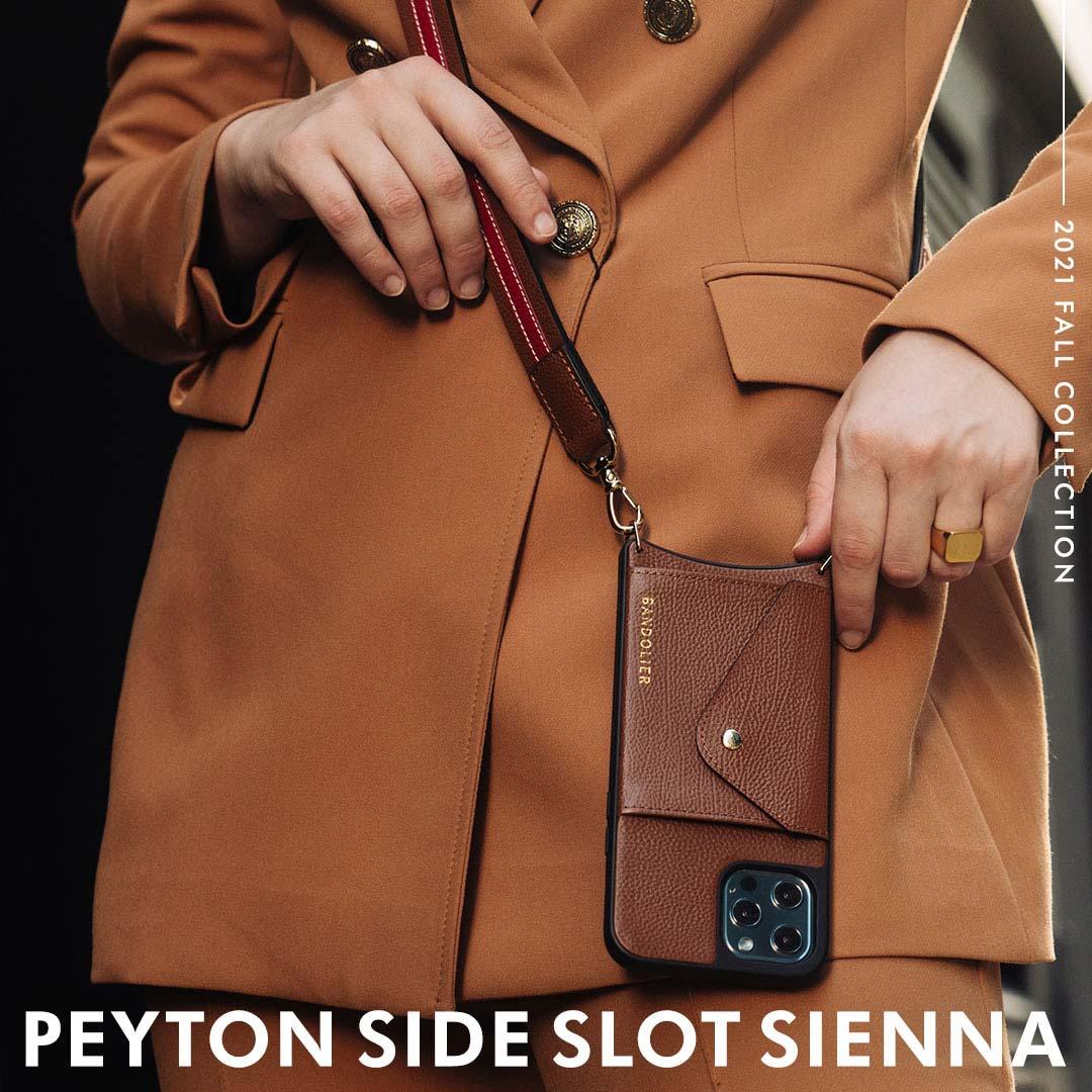 PEYTON SIDE SLOT SIENNA