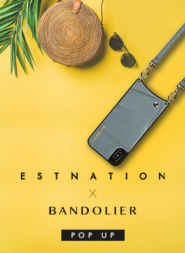 【BANDOLIER】POP UP STOREをESTNATION六本木店にて期間限定OPEN!