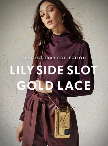 LILY SIDE SLOT GOLD LACE