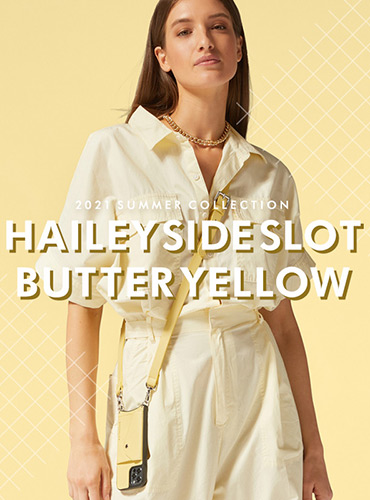 HAILEY SIDE SLOT BUTTER YELLOW