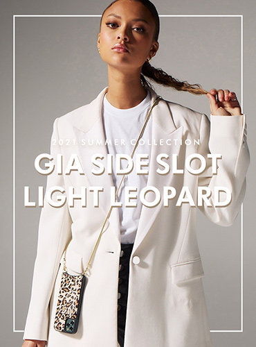 GIA SIDE SLOT LIGHT LEOPARD
