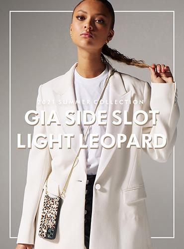 GIA SIDE SLOT LIGHT LEOPARD