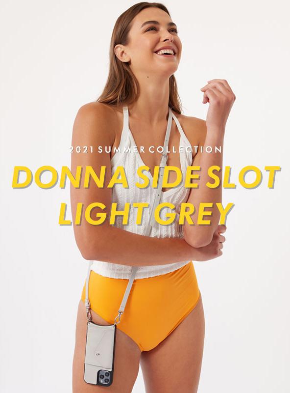 【販売開始】DONNA SIDE SLOT LIGHT GREY