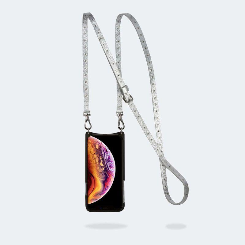 【iPhone SE/8/7/6s/6】NICOLE RICH SILVER二コル リッチシルバー