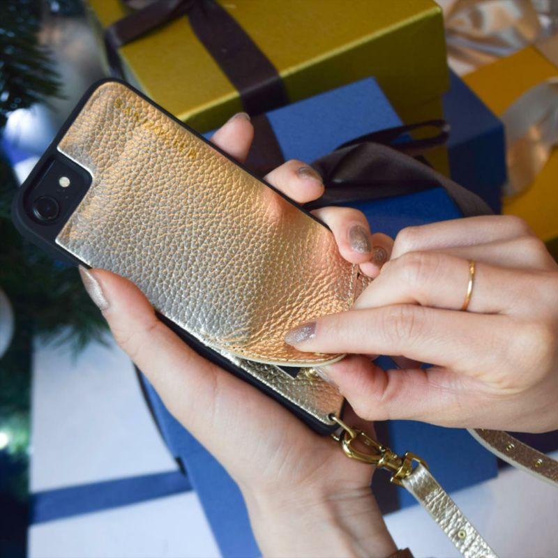 【iPhone SE/8/7/6s/6】NICOLE RICH GOLD ニコル リッチゴールド