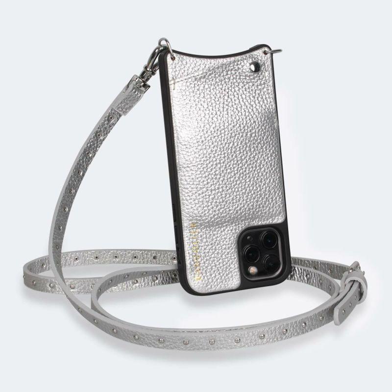 【iPhone 11 Pro】NICOLE RICH SILVER ニコル リッチシルバー