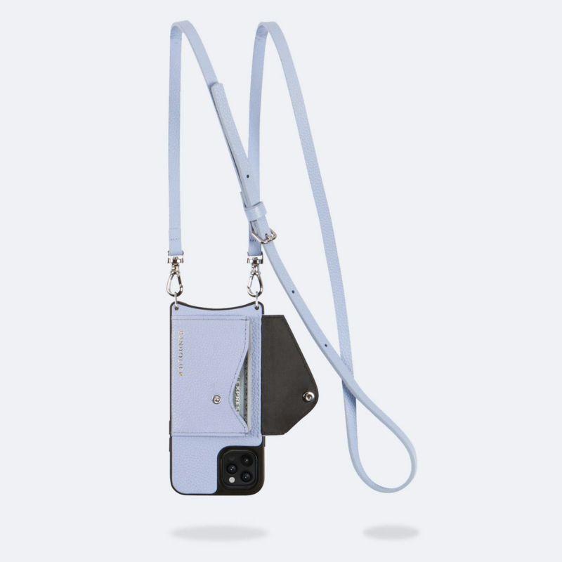 【iPhone SE/8/7/6s/6】DONNA SIDE SLOT PERIWINKLE ドナー サイド スロット ペリウィンクル