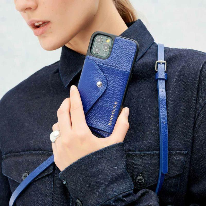 【iPhone 11】DONNA ROYAL BLUE ドナー ロイヤル ブルー