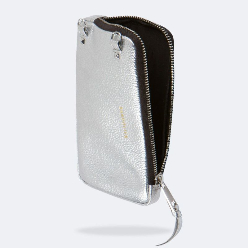 EXPANDED RICH SILVER POUCH エキスパンデッド リッチシルバード ポーチ