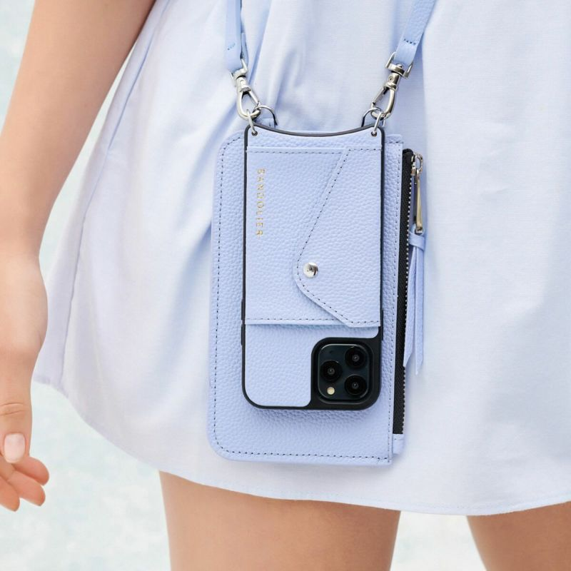 EMMA PERIWINKLE POUCH エマ ペリウィンクル ポーチ