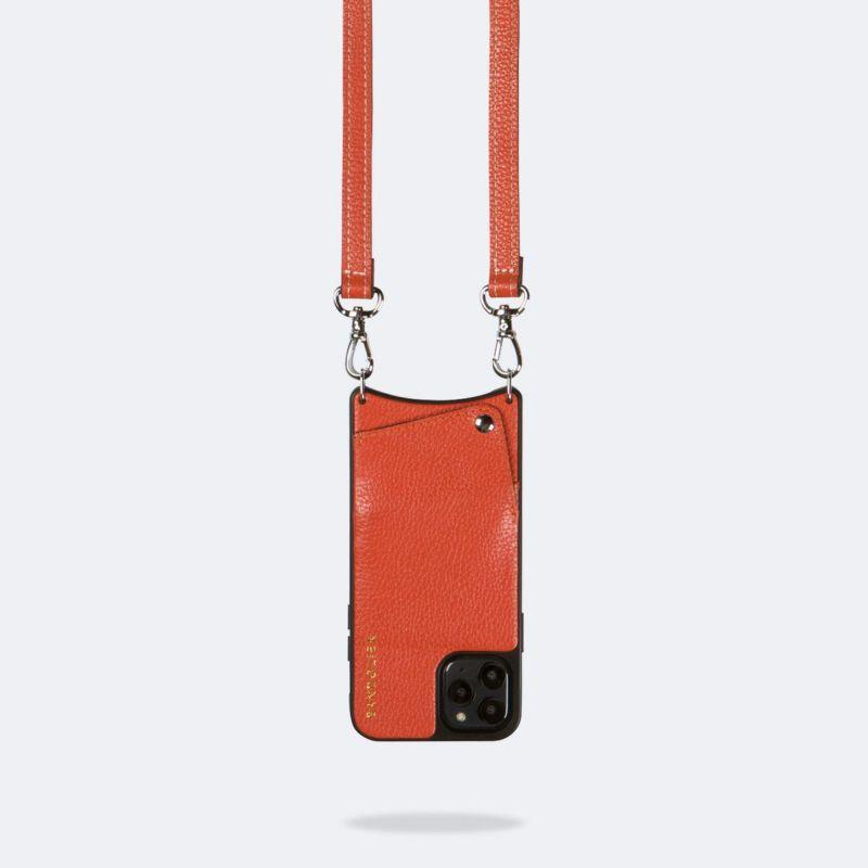 【iPhone 11 Pro】CASEY ORANGE ケイシー オレンジ