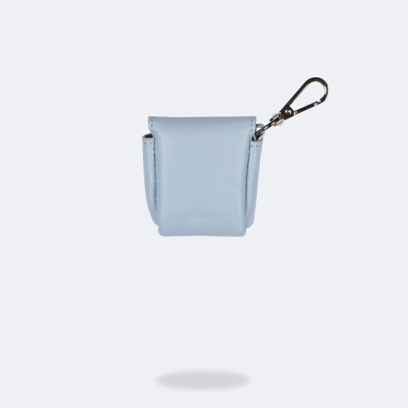 AirPods POUCH LIGHT BLUE エアーポッズ ポーチ ライトブルー
