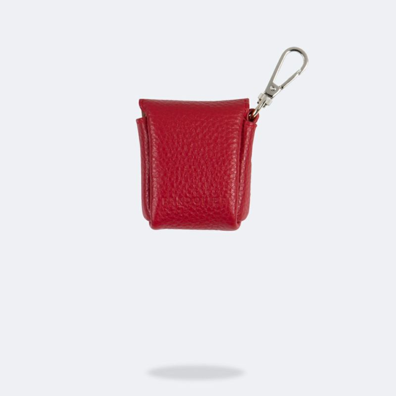 AirPods POUCH LYDIA RED エアーポッズ ポーチ リディアレッド