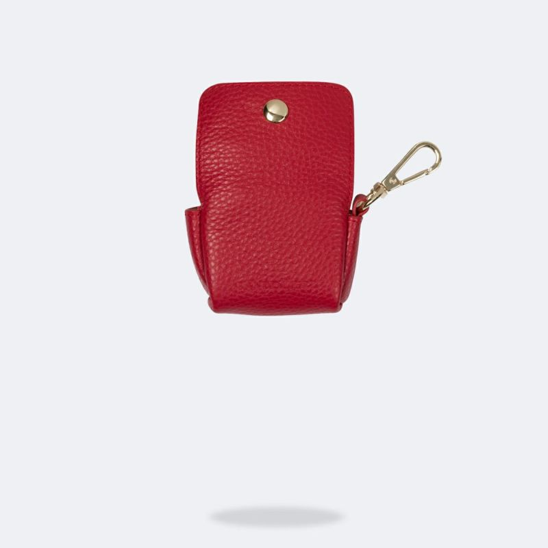 AirPods Pro POUCH LYDIA RED エアーポッズプロ ポーチ リディアレッド