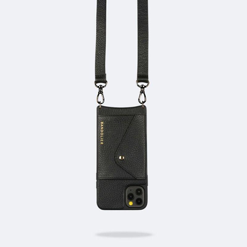 【iPhone 12 Pro/12】 HAILEY SIDE SLOT PEWTER ヘイリー サイドスロット ピューター