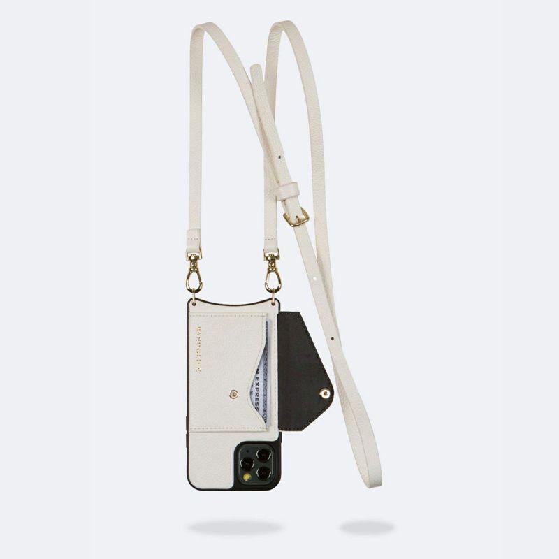 【iPhone 11 Pro】DONNA SIDE SLOT WHITE ドナー サイド スロット ホワイト