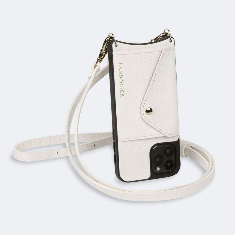 【iPhone 11】DONNA SIDE SLOT WHITE ドナー サイド スロット ホワイト
