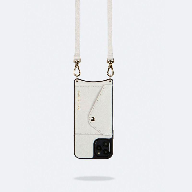 【iPhone 12 Pro/12】DONNA SIDE SLOT WHITE ドナー サイド スロット ホワイト