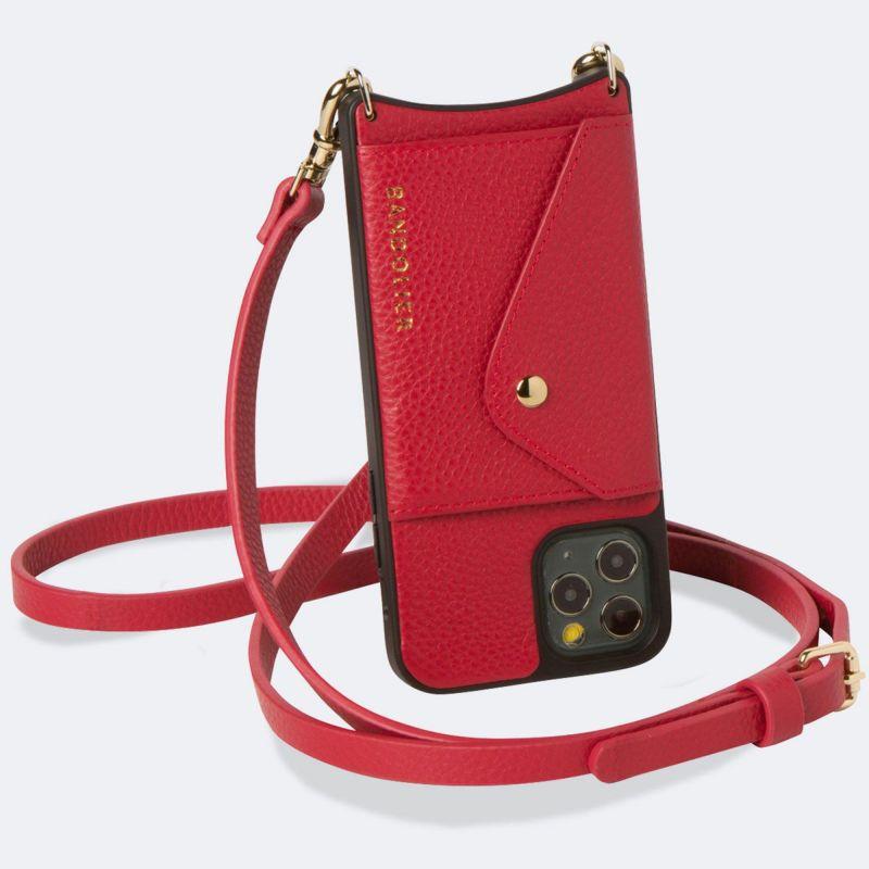 【iPhone 12 mini】DONNA SIDE SLOT LYDIA RED ドナー サイド スロット リディア レッド