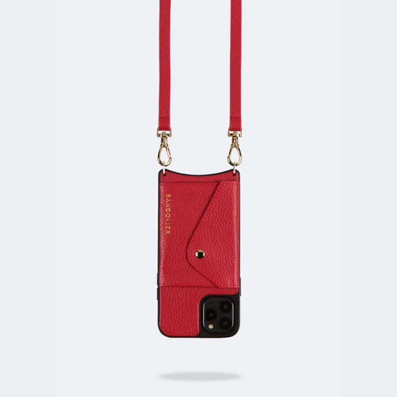 【iPhone 12 Pro Max】DONNA SIDE SLOT LYDIA RED ドナー サイド スロット リディア レッド