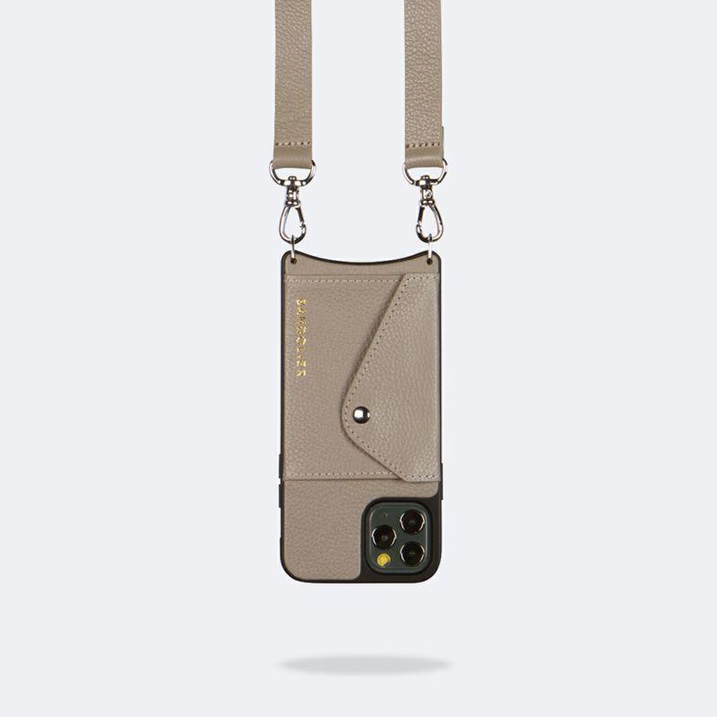 【iPhone 12 Pro/12】HAILEY GREIGE ヘイリー グレージュ