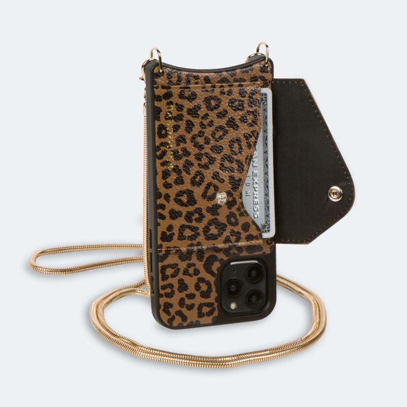 【iPhone 12 Pro/12】GIA SIDE SLOT LEOPARD ジア サイド スロット レオパード