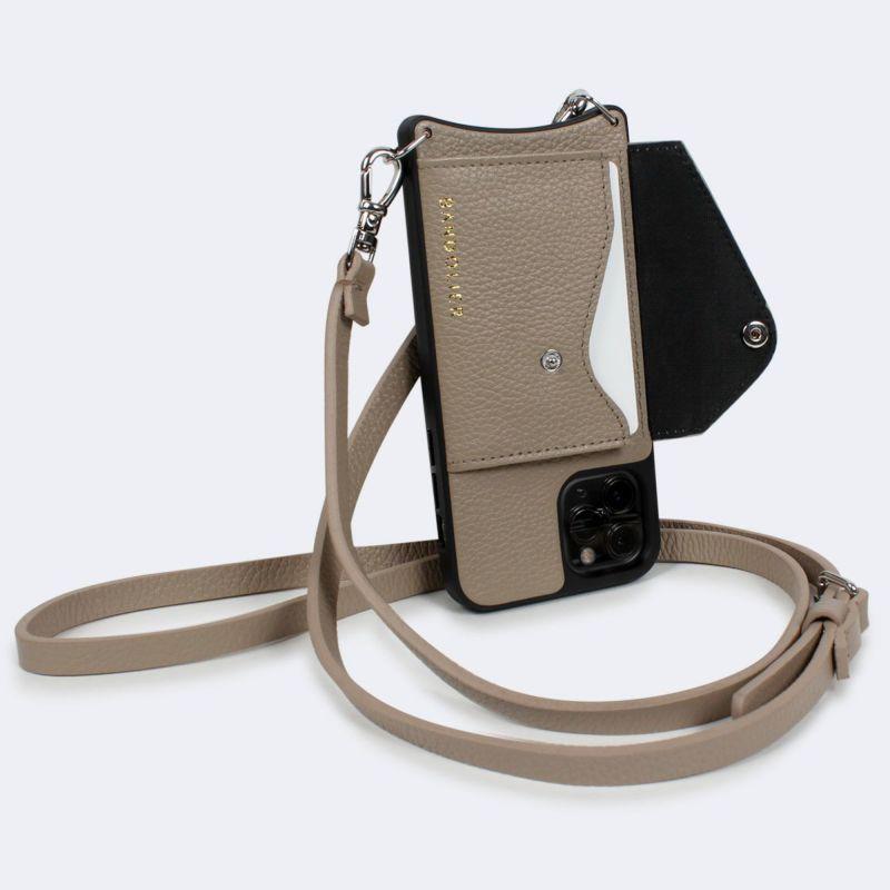 【日本限定】【iPhone 12 mini】DONNA SIDE SLOT LIGHT TAUPE ドナー サイド スロット ライト トープ