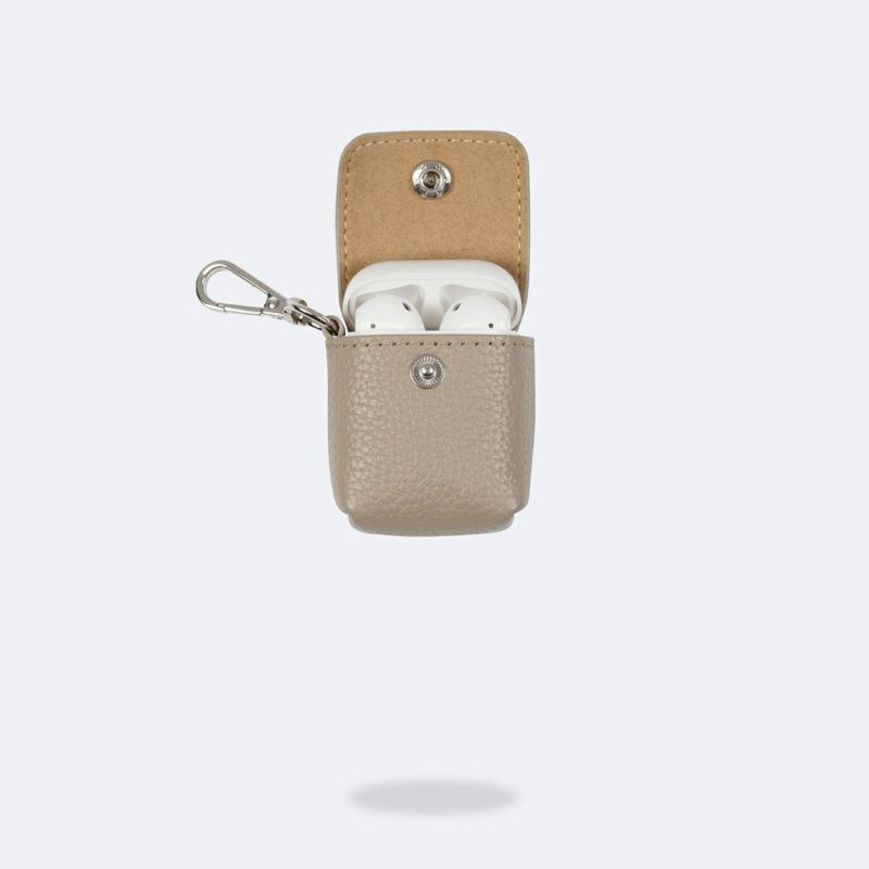 AirPods POUCH GREIGE エアーポッズ ポーチ グレージュ