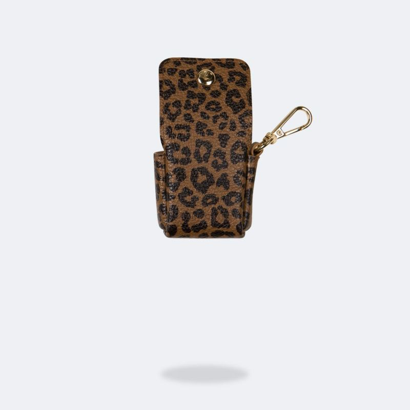 AirPods POUCH LEOPARD エアーポッズ ポーチ レオパード