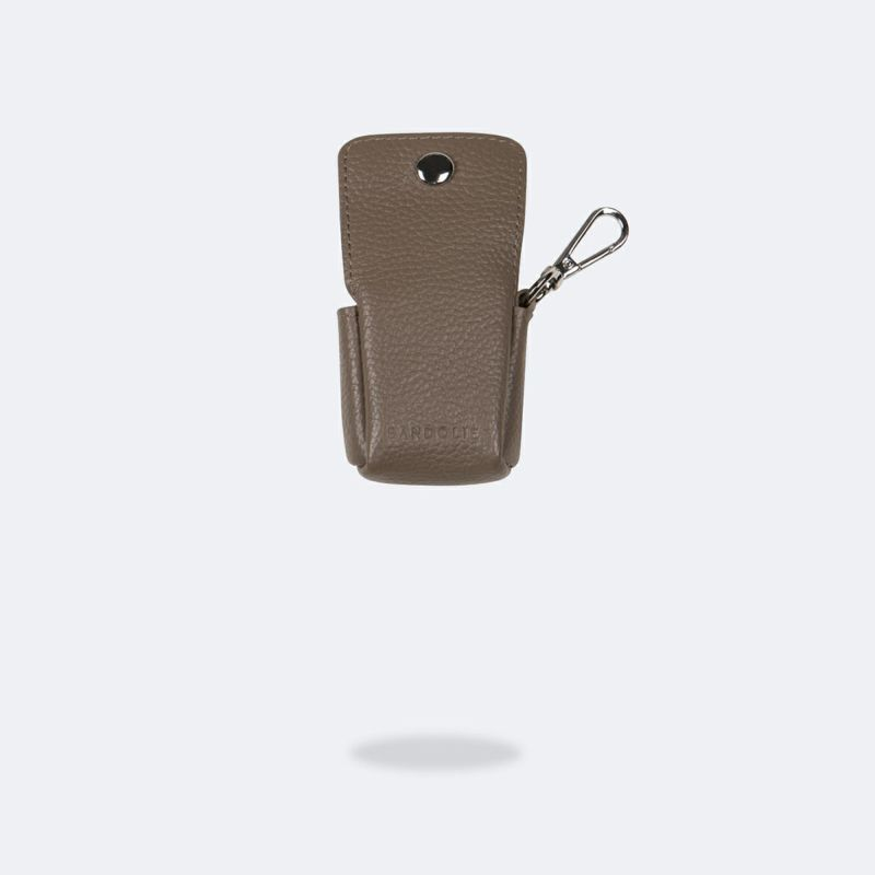 AirPods POUCH DARK TAUPE エアーポッズ ポーチ ダーク トープ