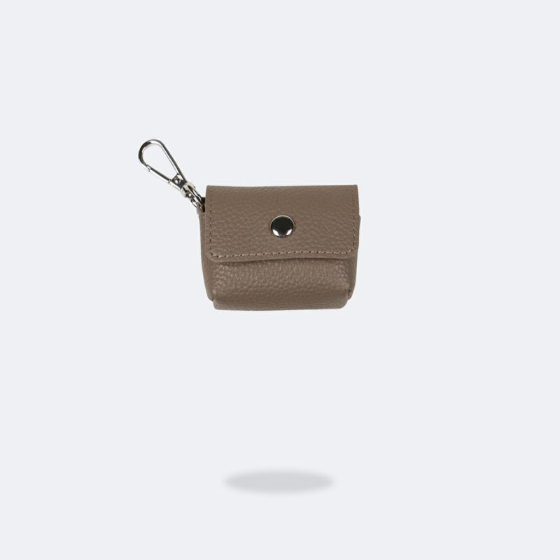 AirPods Pro POUCH DARK TAUPE エアーポッズ プロ ポーチ ダーク トープ