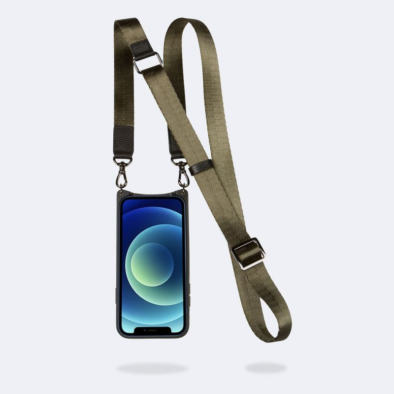 【iPhoneSE/8/7/6s/6】 BOBBY ARMY GREEN ボビー アーミー グリーン