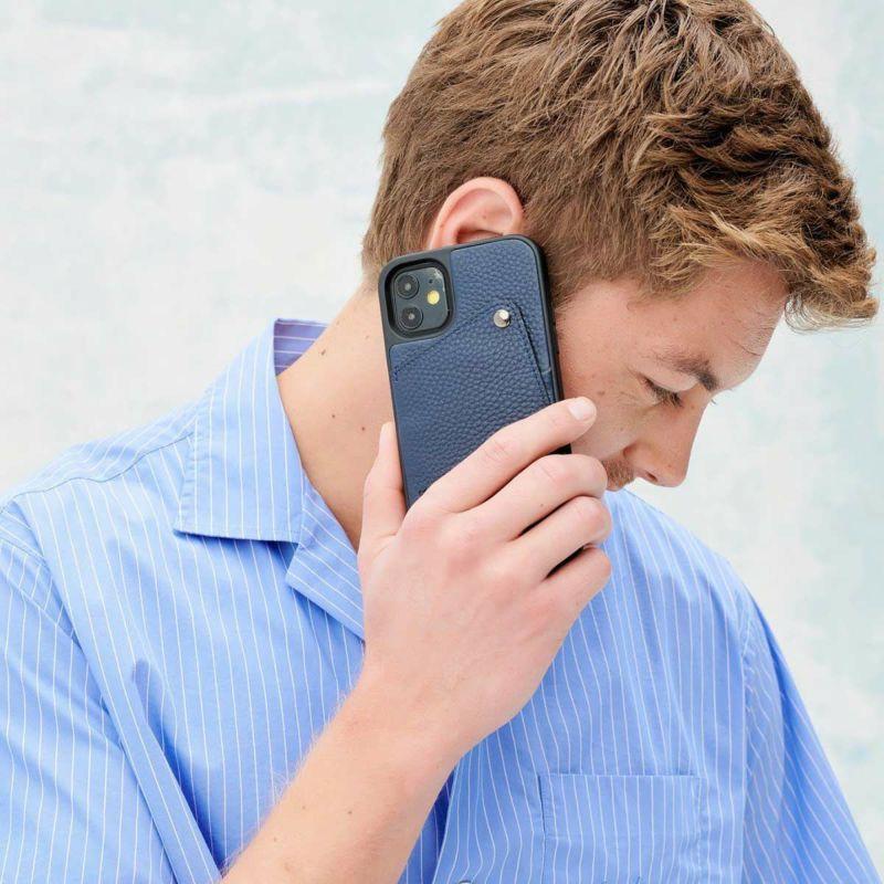 【iPhone 12 Pro/12】ALEX NAVY アレックス ネイビー