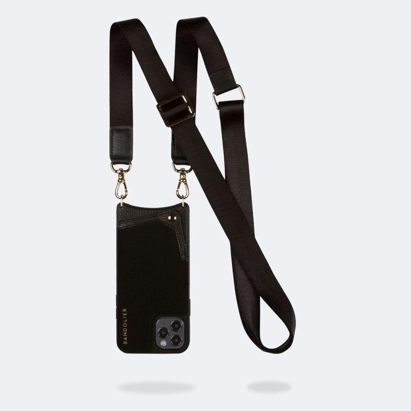 【iPhoneSE/8/7/6s/6】 BOBBY NEOPRENE BLACK ボビー ネオプレン ブラック