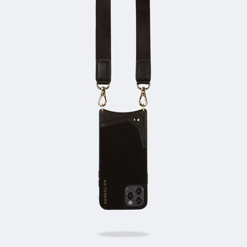 【iPhone 12 Pro/12】 BOBBY NEOPRENE BLACK ボビー ネオプレン ブラック