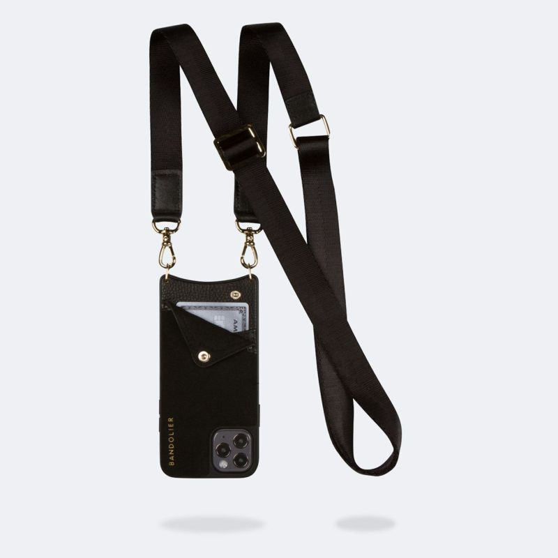 【iPhone 12 Pro Max】 BOBBY NEOPRENE BLACK ボビー ネオプレン ブラック