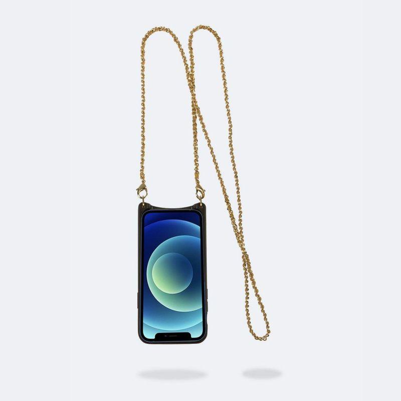 【iPhone 12 mini】LILY SIDE SLOT GOLD LACE リリー サイド スロット ゴールド レース