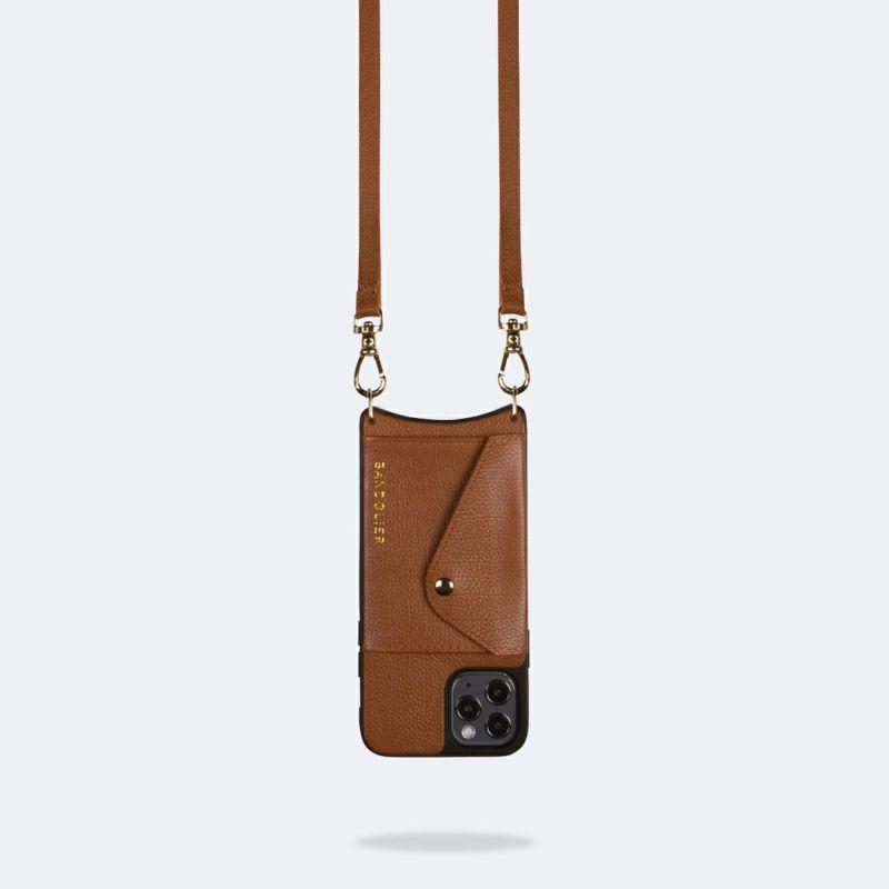 【iPhone 12 Pro Max】LENA SIDE SLOT SIENNA レナ サイド スロット シエンナ