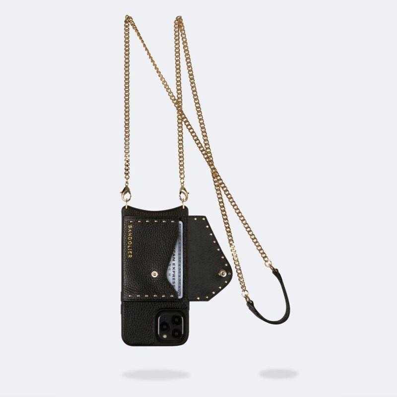 【iPhone 12 mini】MONA SIDE SLOT BLACK モナ サイド スロット ブラック