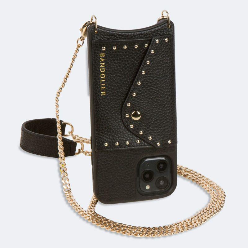 【iPhone 12 Pro/12】MONA SIDE SLOT BLACK モナ サイド スロット ブラック