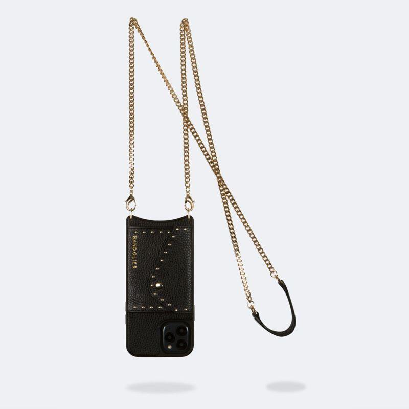 【iPhone 12 Pro Max】MONA SIDE SLOT BLACK モナ サイド スロット ブラック