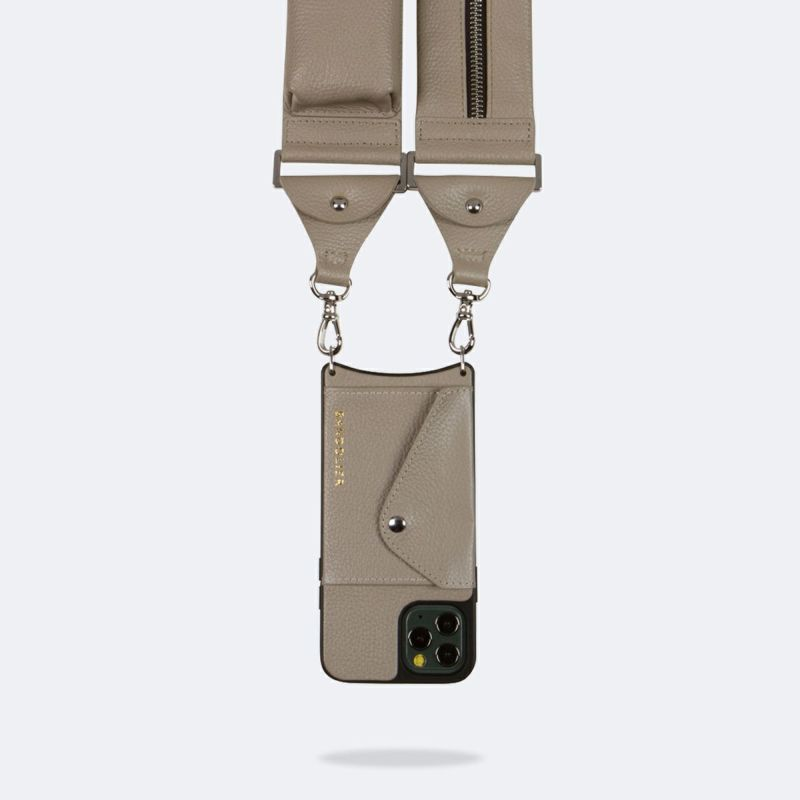 【iPhone 12 mini】BILLIE SIDE SLOT GREIGE ビリー サイド スロット グレージュ