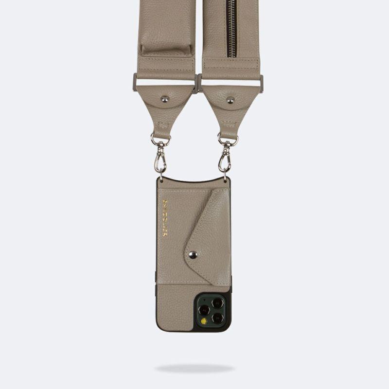 【iPhone 12 Pro/12】BILLIE SIDE SLOT GREIGE ビリー サイド スロット グレージュ