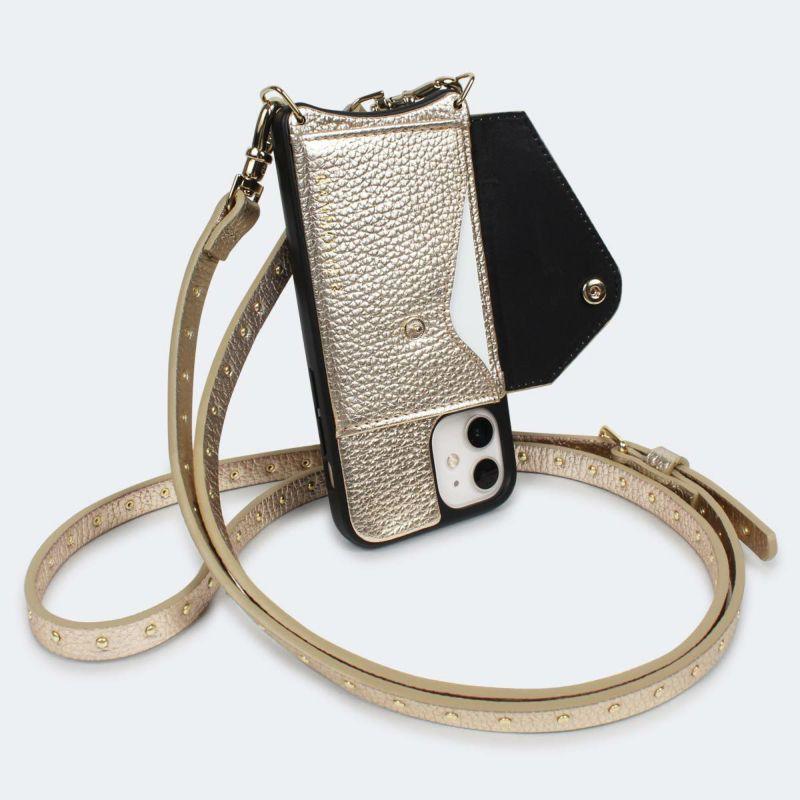 【iPhone 12 mini】NICOLE RICH GOLD ニコル リッチ ゴールド