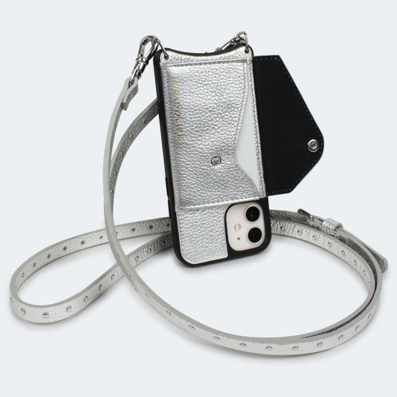 【iPhone 12 mini】 NICOLE RICH SILVER ニコル リッチ シルバー