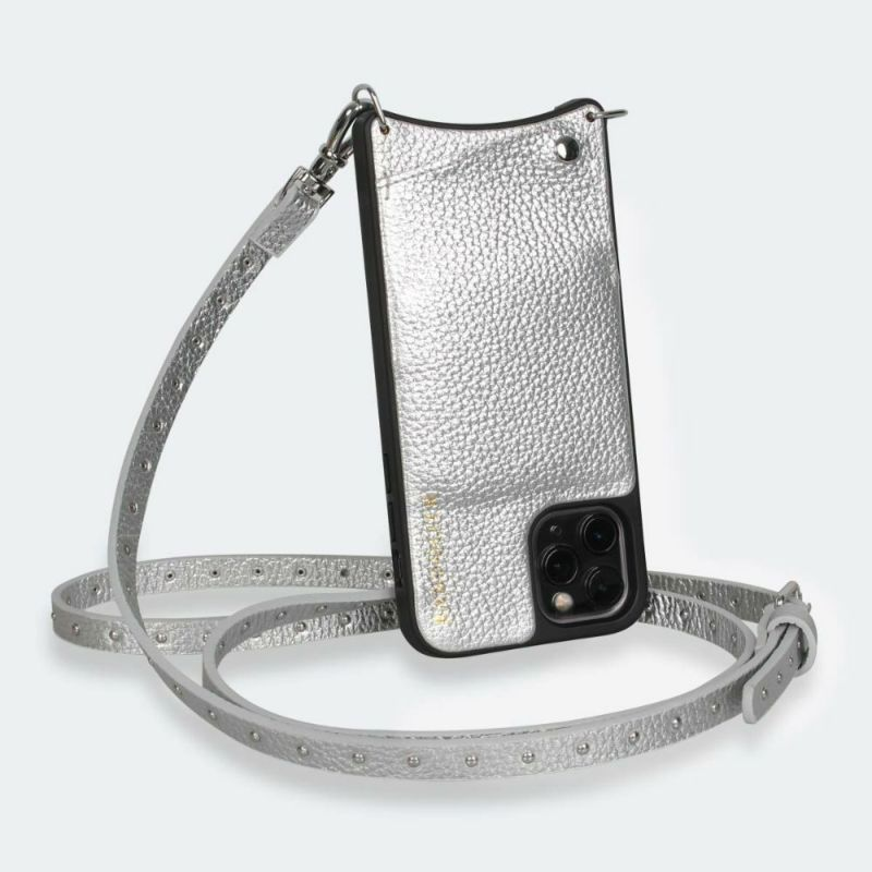 【iPhone 12 Pro Max】 NICOLE RICH SILVER ニコル リッチ シルバー