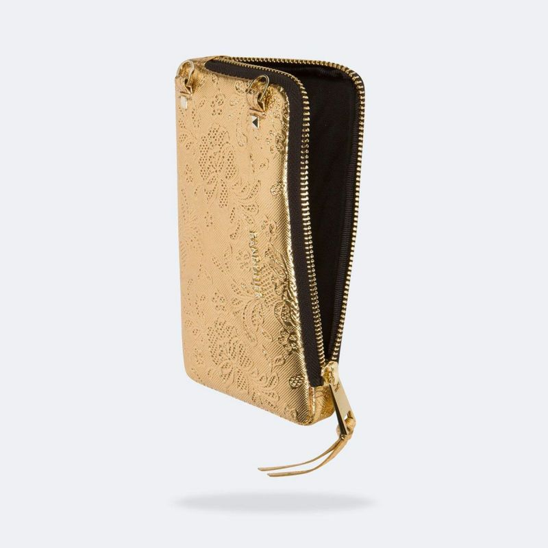 EXPANDED GOLD LACE POUCH エキスパンデッド ゴールド レース ポーチ