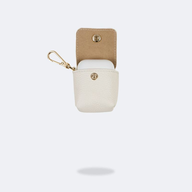 AirPods POUCH WHITE エアーポッズ ポーチ ホワイト