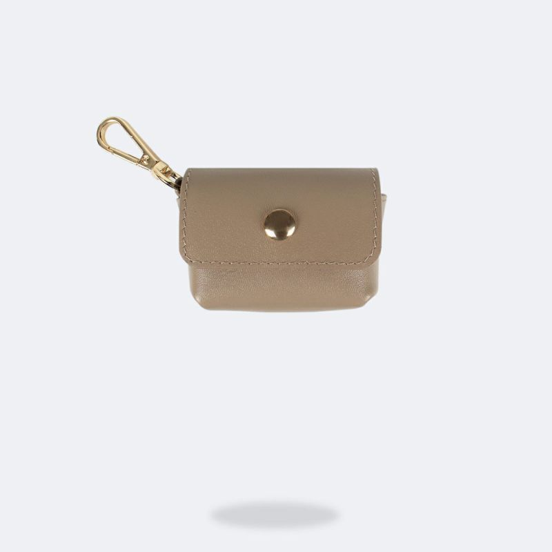 AirPods Pro POUCH GREY TAUPE エアーポッズ プロ ポーチ グレー トープ